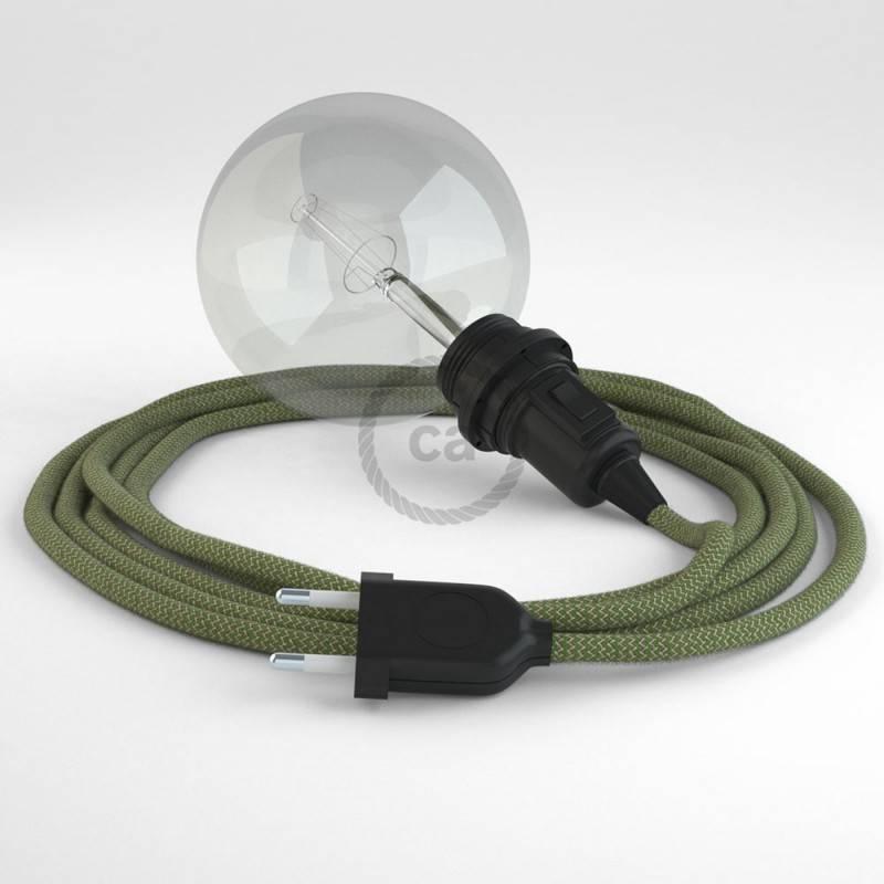 Crea tu Snake para pantalla ZigZag Verde Tomillo RD72 y trae la luz donde tu quieras.