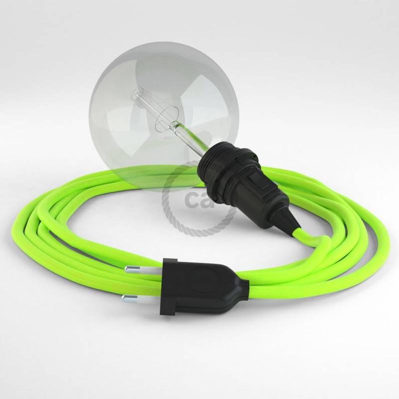 Crea tu Snake para pantalla Fluo Amarillo RF10 y trae la luz donde tu quieras.