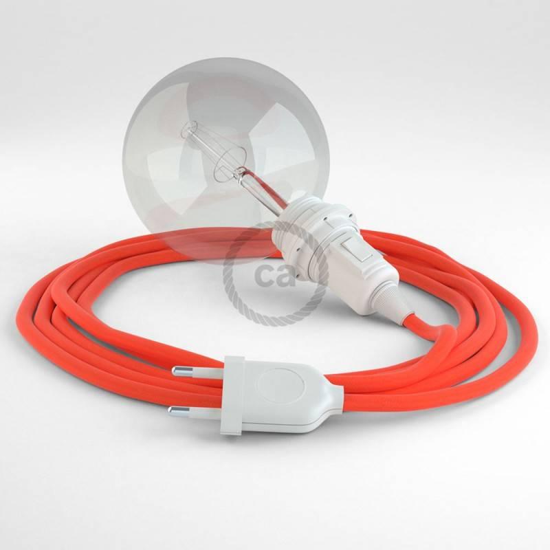 Crea tu Snake para pantalla Fluo Naranja RF15 y trae la luz donde tu quieras.