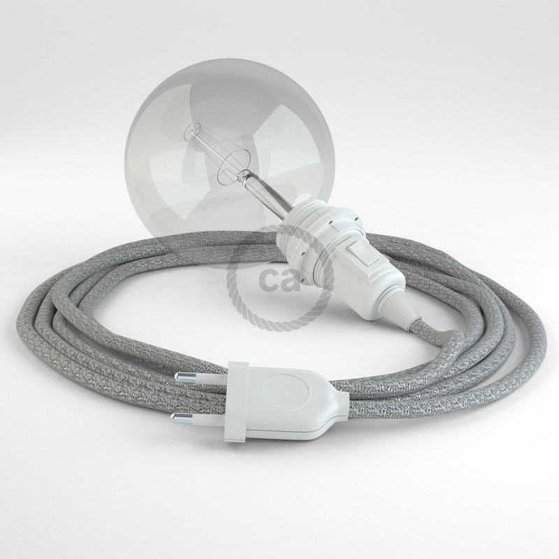 Crea tu Snake para pantalla Glitter Plateado RL02 y trae la luz donde tu quieras.