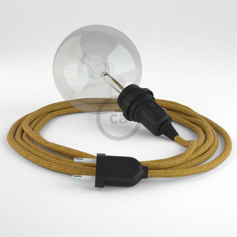 Crea tu Snake para pantalla Glitter Dorado RL05 y trae la luz donde tu quieras.