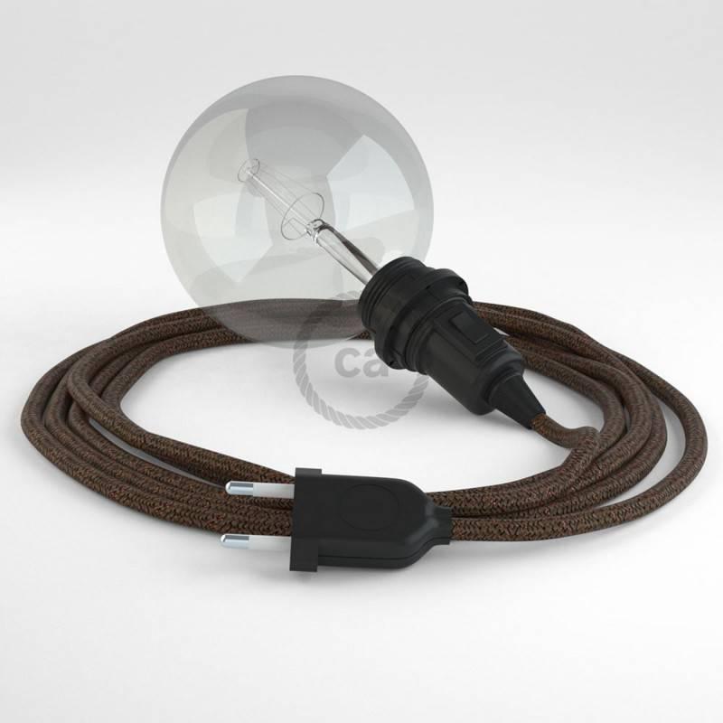Crea tu Snake para pantalla Glitter Marrón RL13 y trae la luz donde tu quieras.