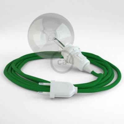 Crea tu Snake para pantalla Efecto Seda Verde RM06 y trae la luz donde tu quieras.