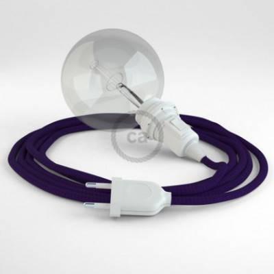 Crea tu Snake para pantalla Efecto Seda Púrpura RM14 y trae la luz donde tu quieras.