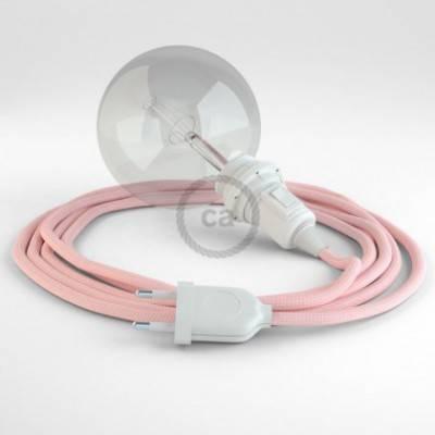 Crea tu Snake para pantalla Efecto Seda Rosa Baby RM16 y trae la luz donde tu quieras.