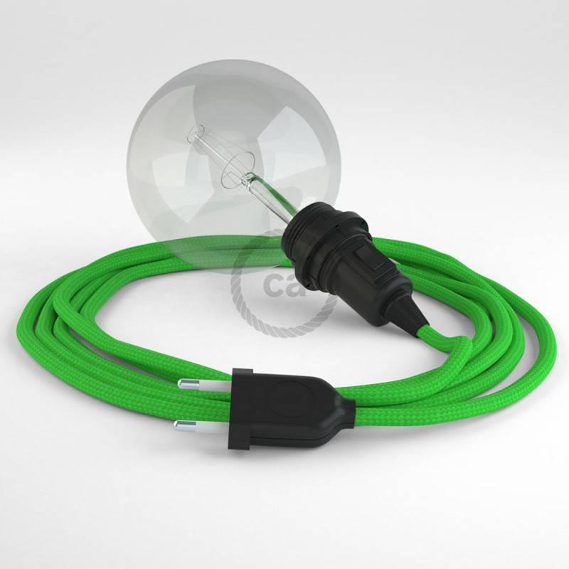 Crea tu Snake para pantalla Efecto Seda Verde Lima RM18 y trae la luz donde tu quieras.