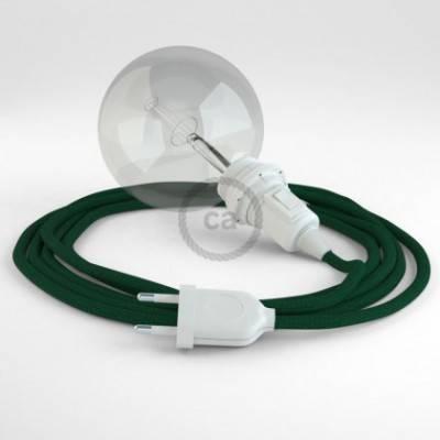 Crea tu Snake para pantalla Efecto Seda Verde Oscuro RM21 y trae la luz donde tu quieras.