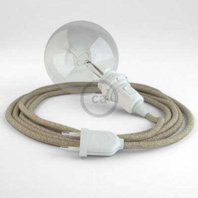 Crea tu Snake para pantalla Lino Natural Neutro RN01 y trae la luz donde tu quieras.