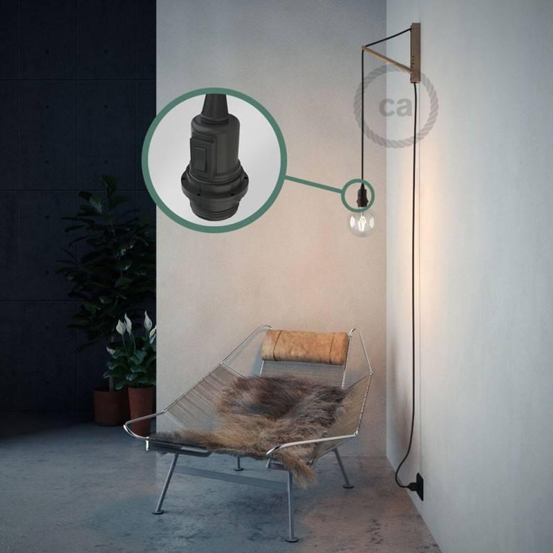 Crea tu Snake para pantalla Lino Natural Antracita RN03 y trae la luz donde tu quieras.