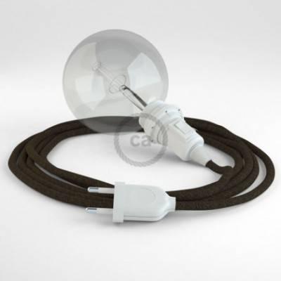 Crea tu Snake para pantalla Lino Natural Marrón RN04 y trae la luz donde tu quieras.