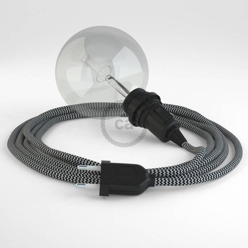 Crea tu Snake para pantalla ZigZag Negro RZ04 y trae la luz donde tu quieras.
