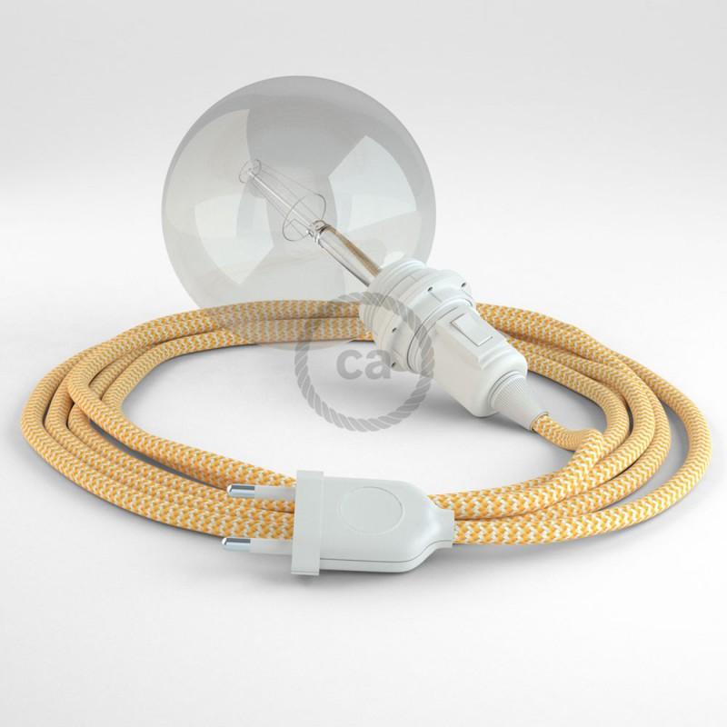 Crea tu Snake para pantalla ZigZag Amarillo RZ10 y trae la luz donde tu quieras.
