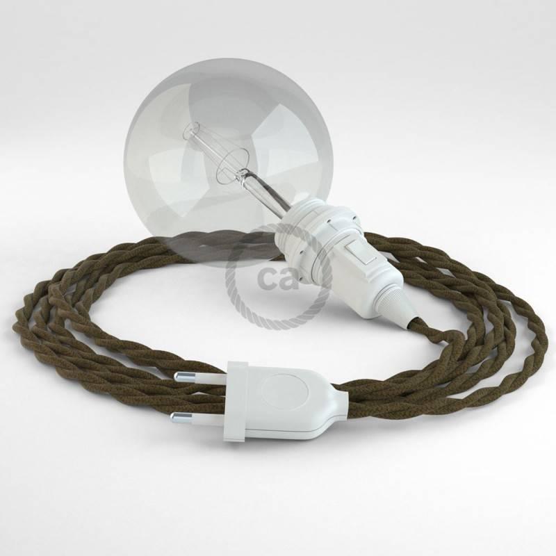 Crea tu Snake para pantalla Algodón Marrón TC13 y trae la luz donde tu quieras.