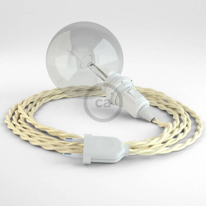 Crea tu Snake para pantalla Efecto Seda Marfil TM00 y trae la luz donde tu quieras.