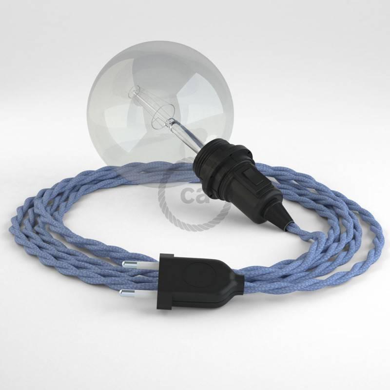 Crea tu Snake para pantalla Efecto Seda Lila TM07 y trae la luz donde tu quieras.