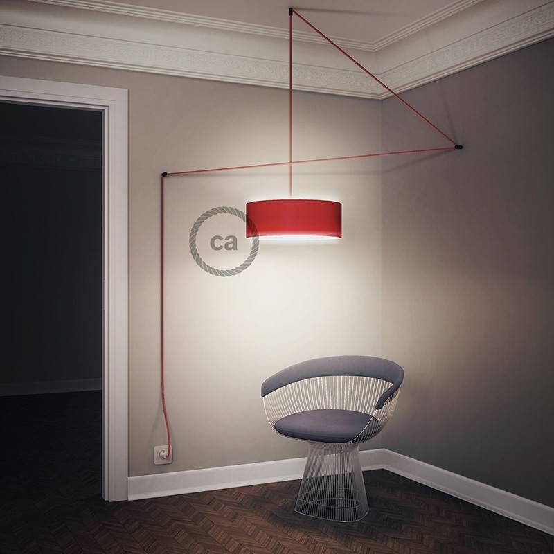 Crea tu Snake para pantalla Efecto Seda Rojo TM09 y trae la luz donde tu quieras.