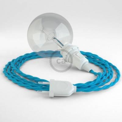 Crea tu Snake para pantalla Efecto Seda Turquesa TM11 y trae la luz donde tu quieras.