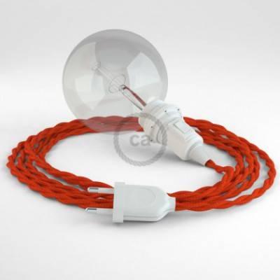 Crea tu Snake para pantalla Efecto Seda Naranja TM15 y trae la luz donde tu quieras.