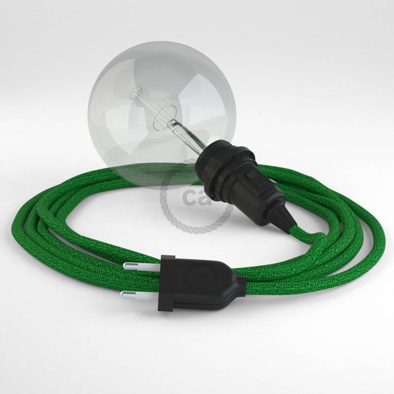 Crea tu Snake para pantalla Glitter Verde RL06 y trae la luz donde tu quieras.
