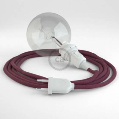 Crea tu Snake para pantalla Algodón Rojo Violeta RC32 y trae la luz donde tu quieras.