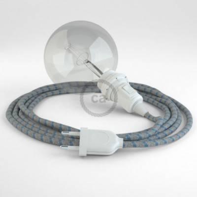 Crea tu Snake para pantalla Stripes Azul Steward RD55 y trae la luz donde tu quieras.