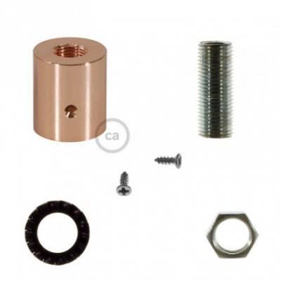 Racor de metal Cobre para Creative-Tube 16 mm, accesorios incluidos