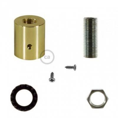 Racor de metal Latón para Creative-Tube 16 mm, accesorios incluidos