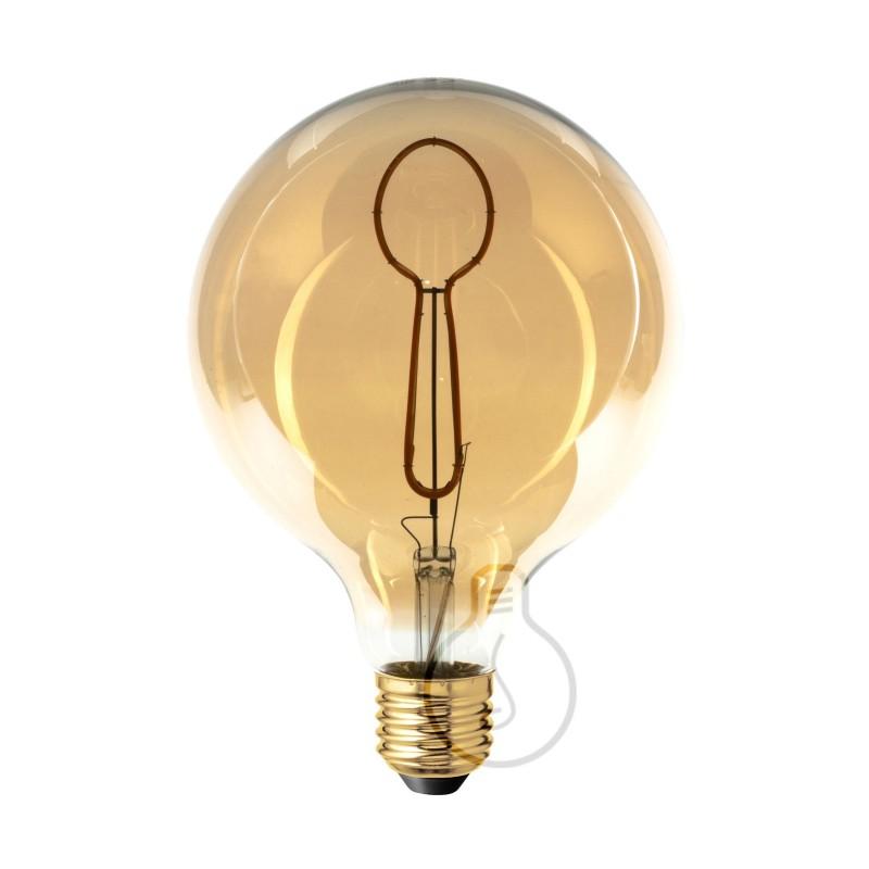 Bombilla LED Globo G125 Masterchef filamento Cuchara 4W E27 Regulable 2000K