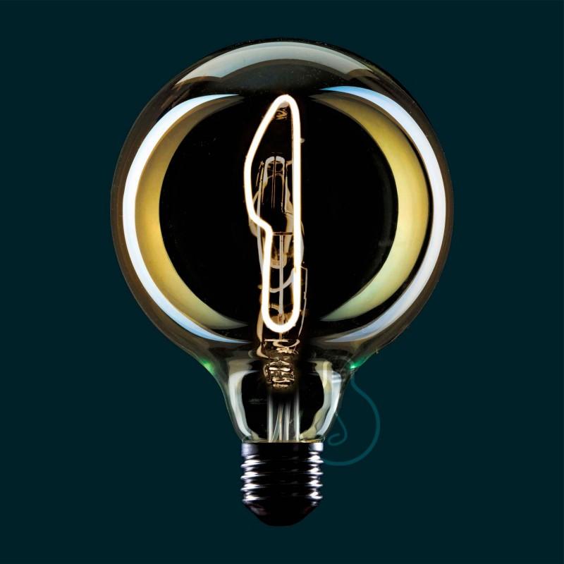 Bombilla LED Globo G125 Masterchef filamento Cuchillo 4W E27 Regulable 2000K