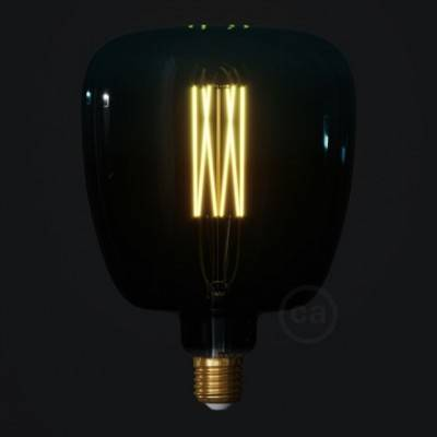 Bombilla LED Bona Serie Pastel, Dusk, filamento recto 4W E27 Regulable 2200K