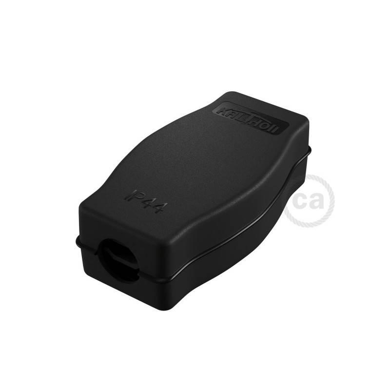 Caja de conexiones para Guirnaldas Lumet con adaptador para cables redondos y planos