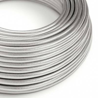Cable Eléctrico Redondo recubierto de cobre 100% Acabado Plata
