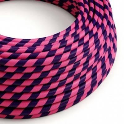 Cable Eléctrico redondo Vertigo HD recubierto en Textil Cheshire ERM41
