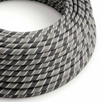 Cable Eléctrico redondo Vertigo HD recubierto en Textil Ironman ERM44