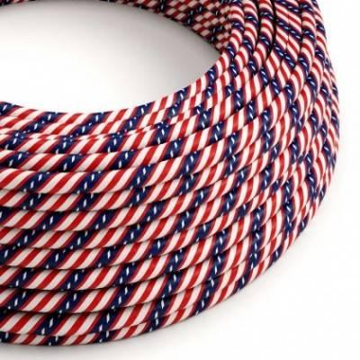 Cable Eléctrico redondo Vertigo HD recubierto en Textil Washington ERM45