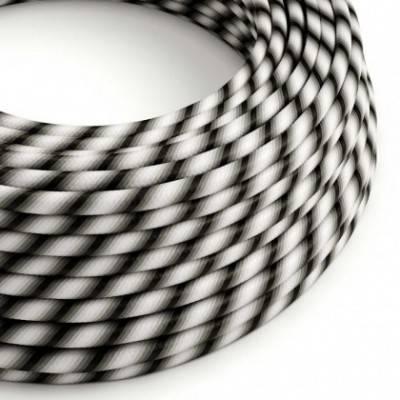 Cable Eléctrico redondo Vertigo HD recubierto en Textil Mr Grey ERM63