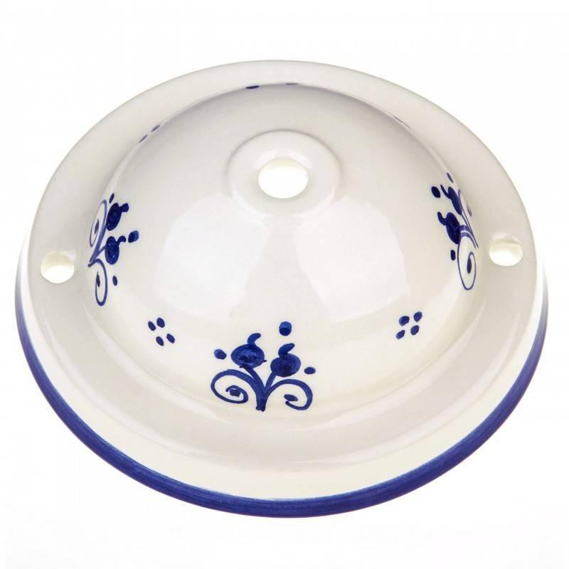 Kit rosetón cerámica con decoración 81-Berries