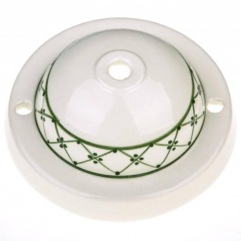 Kit rosetón cerámica con decoración 82-Ivy