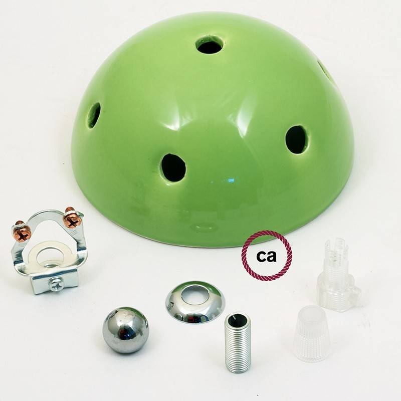 Kit rosetón cerámica con 7 agujeros