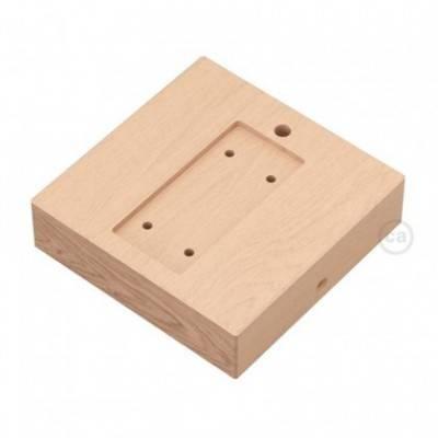 Base cuadrada para Archet(To) en madera