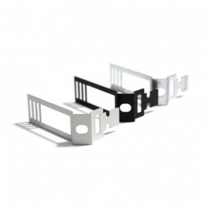 Clip de cable ajustable de metal blanco para Creative-Tube