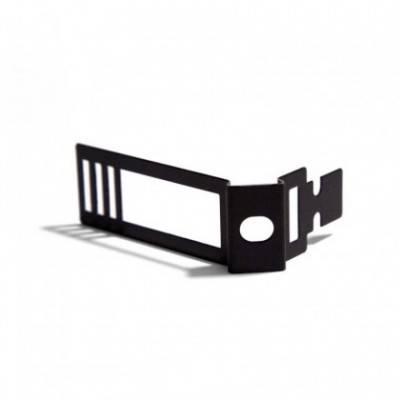 Clip de cable ajustable de metal negro para Creative-Tube
