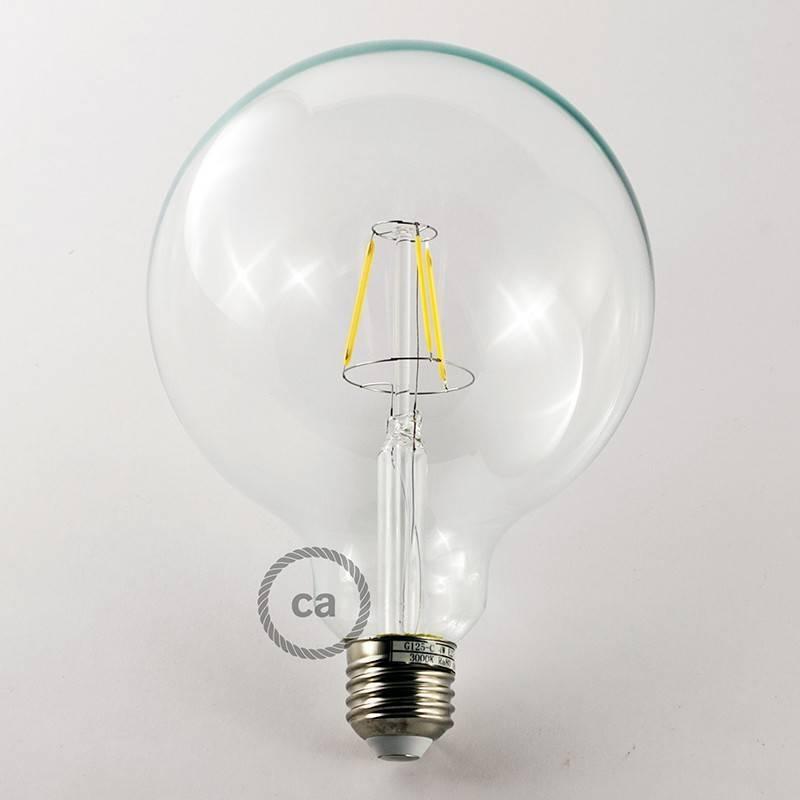 Lámpara colgante a 7 caídas con Rose-One XXL rectangular 675 mm con cable textil y acabado metálico