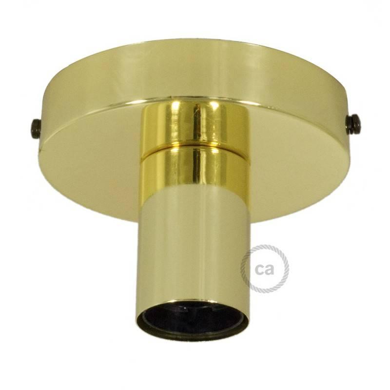 Punto de luz Metal, lámpara de pared o techo