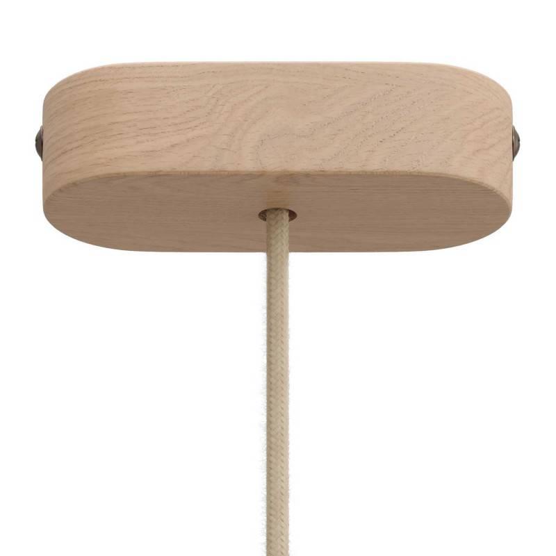 Kit rosetón oval de madera