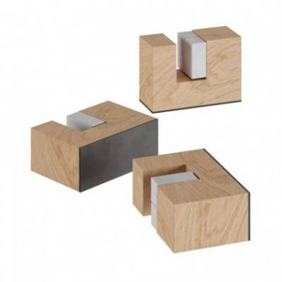 Kit pies de madera, soporte para lámparas de mesa