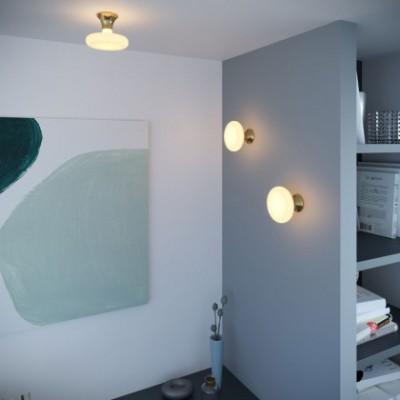 Fermaluce, punto de luz de pared o techo metalizado