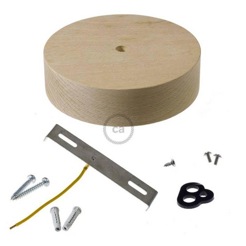 Kit rosetón de madera