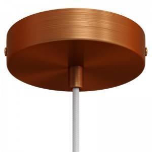 Kit rosetón cilíndrico de metal