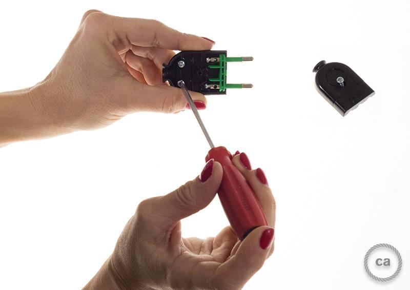 Tutorial 3 como se conecta el enchufe creative - Cable electrico para exterior ...